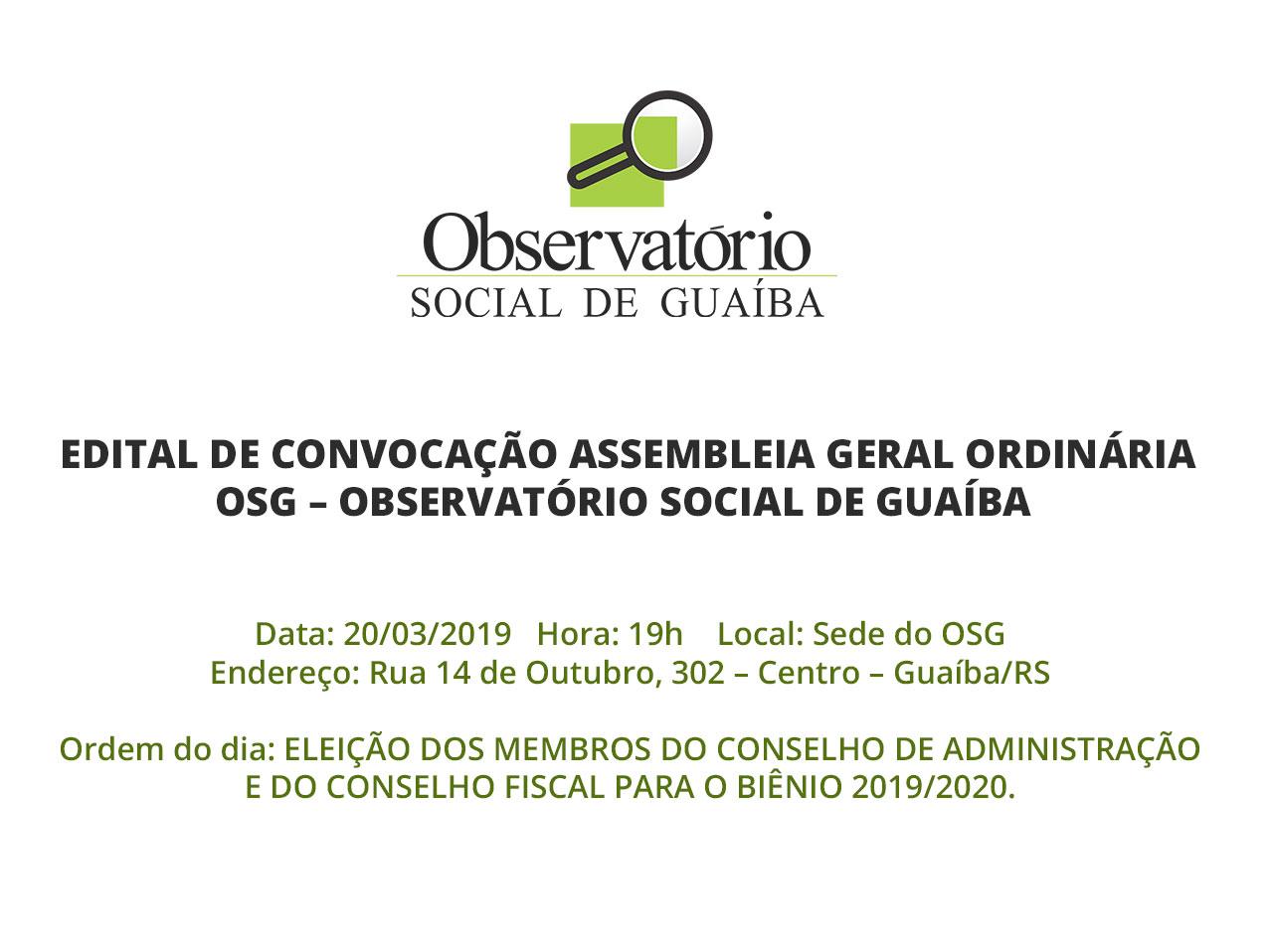 edital de convocacao assembleia geral 20.03.2019