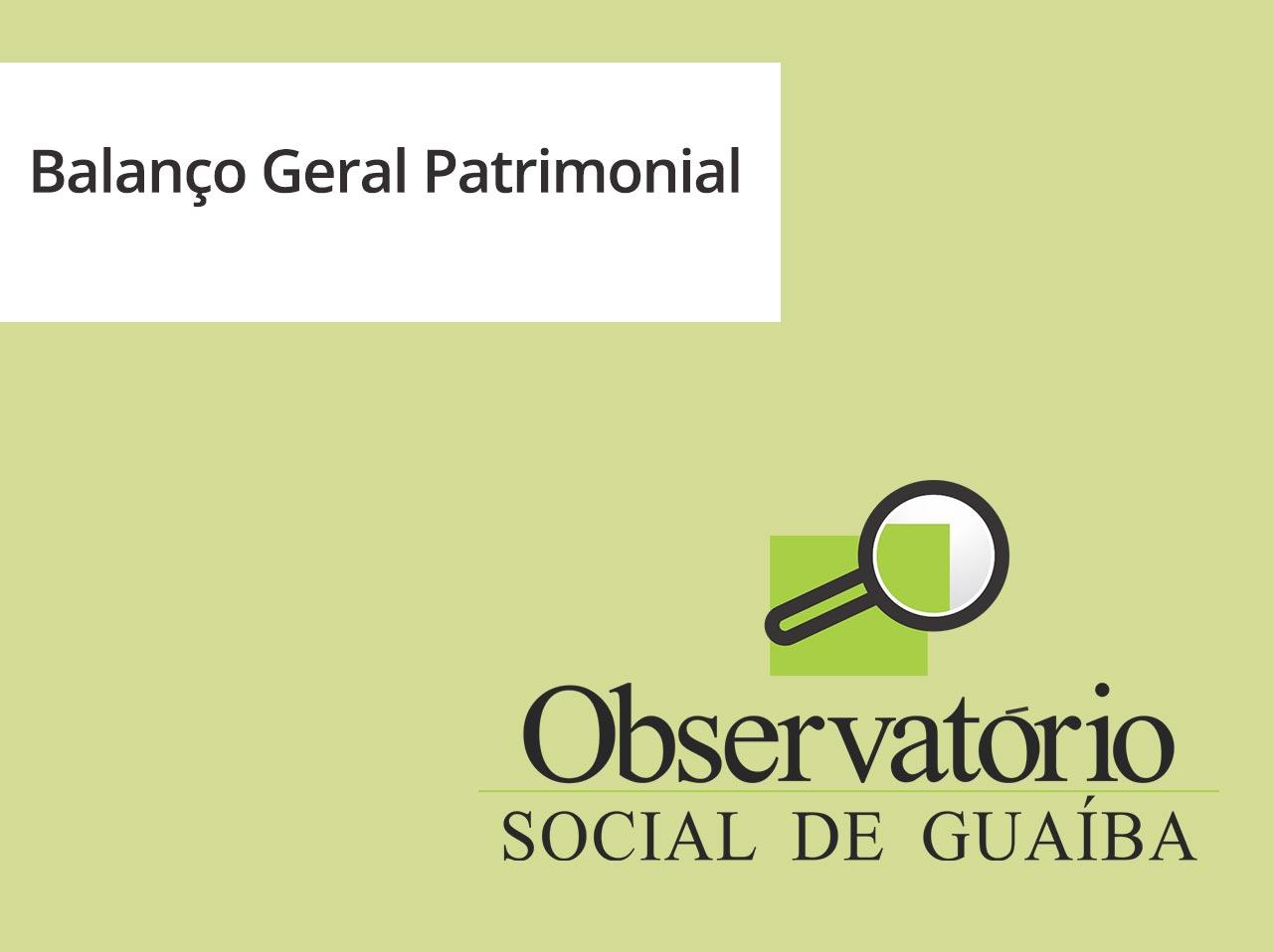 Balanço Geral Patrimonial